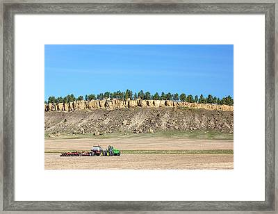 Rimrock Seeder Framed Print by Todd Klassy
