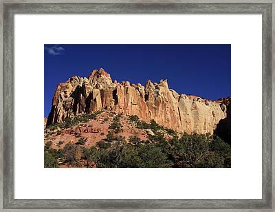 Rimrocks, State Of Utah Framed Print by Aidan Moran