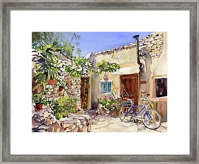 Rincon De Bornos Framed Print by Margaret Merry