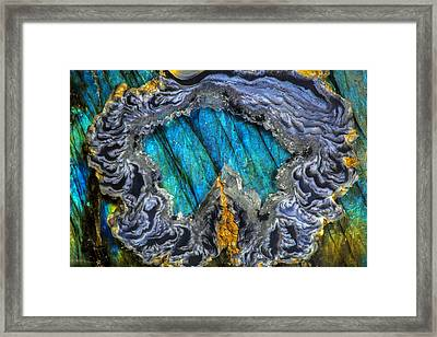 Ring Of Clouds Framed Print