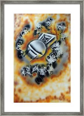 Ring Of Fire Framed Print