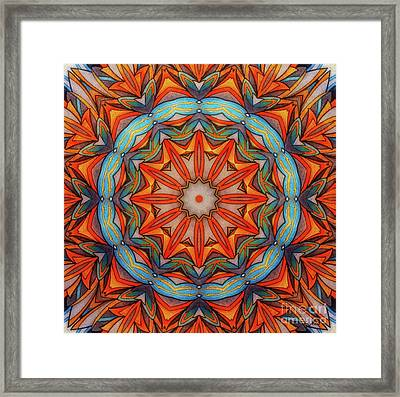 Ring Of Fire Framed Print by Mo T