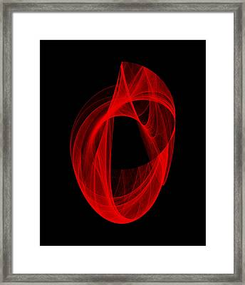 Ring Unraveling I Framed Print