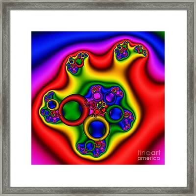 Ringing In The Ear 205 Framed Print by Rolf Bertram