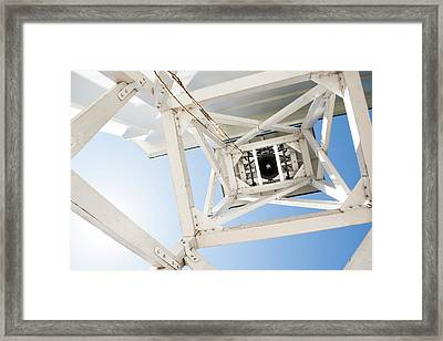 Framed Print featuring the photograph Ringing Of The Chapel Bell by Parker Cunningham