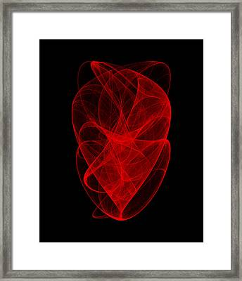 Ringing Wave I Framed Print
