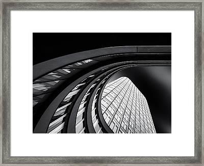 Ringleted Framed Print by Gerard Jonkman