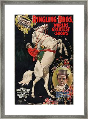Ringling Brothers Framed Print by Celestial Images