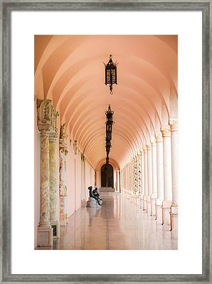 Ringling Museum Of Art Framed Print by Karen Wiles