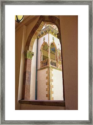 Ringling Window Framed Print