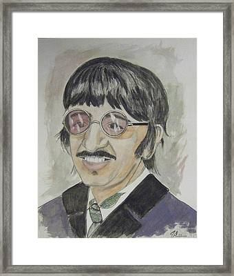 Ringo Framed Print by Joseph Papale