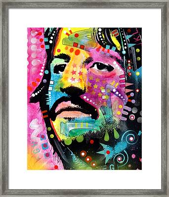Ringo Starr Framed Print by Dean Russo