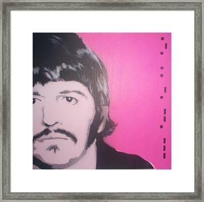Ringo Starr Framed Print by Gary Hogben
