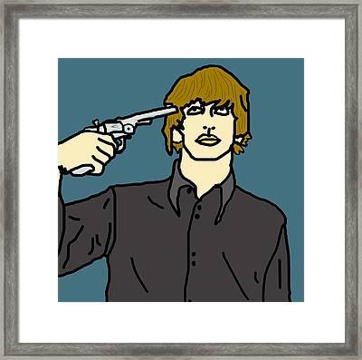 Ringo Starr Framed Print by Jera Sky