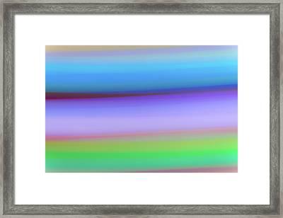 Rings Of Neptune Framed Print