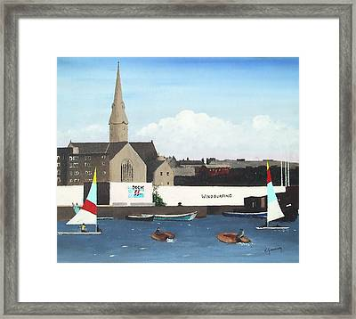 Ringsend Surfdock Framed Print