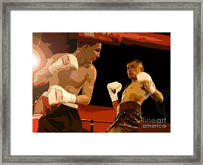 Ringside Framed Print by David Lee Thompson