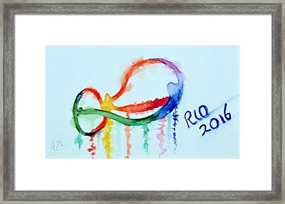Rio 2016 Framed Print by Warren Thompson
