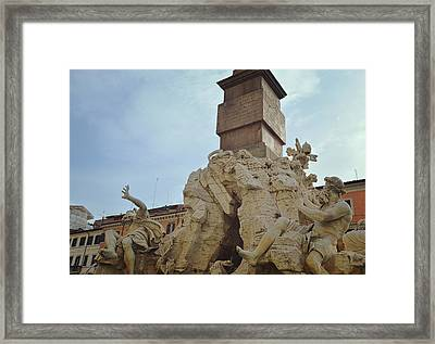 Rio And Danube Framed Print by JAMART Photography
