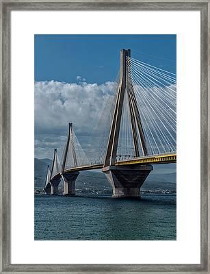 Rio-andirio Bridge Framed Print