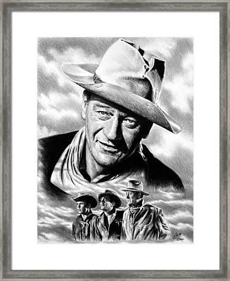 Rio Bravo Framed Print