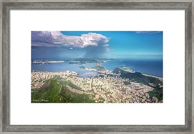 Rio De Janeiro Framed Print by Andrew Matwijec