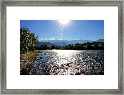Rio Frio, Colombia Framed Print