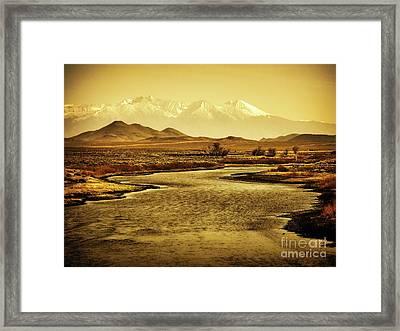Rio Grande Colorado Framed Print