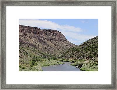 Rio Grande Del Norte Framed Print