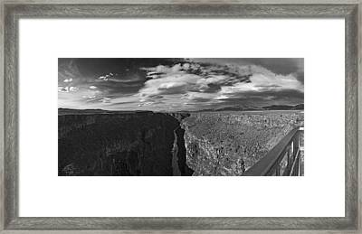 Framed Print featuring the photograph Rio Grande by Gary Cloud