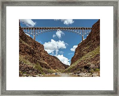 Rio Grande Gorge Bridge Framed Print
