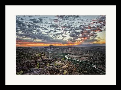 Northern New Mexico Framed Prints