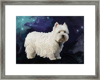 Rio In Texture Framed Print