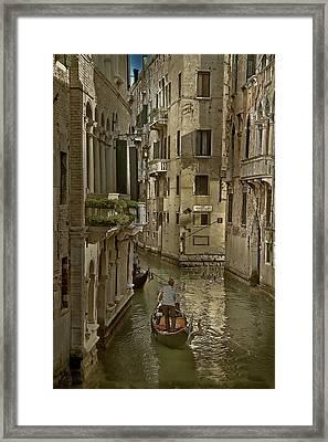 Rio Menuo O De La Verona Framed Print