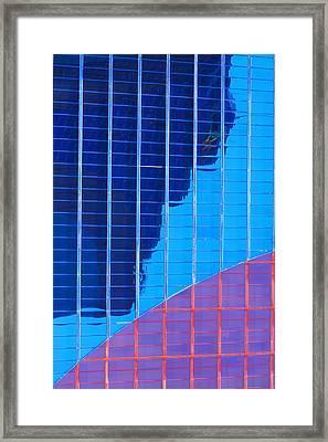 Rio Reflection Framed Print by Richard Henne