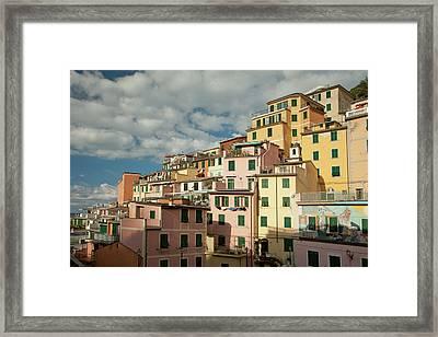 Riomaggiore 2 Framed Print by Art Ferrier