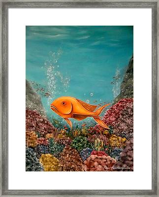 Riot Of Colors Framed Print by Faye Anastasopoulou