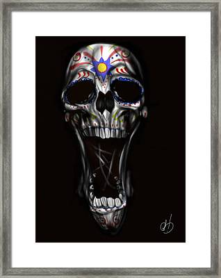 R.i.p Framed Print by Pete Tapang