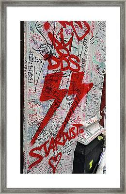 Rip Starman Framed Print by JAMART Photography