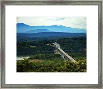 Rip Van Winkle Bridge Framed Print by Bruce Carpenter
