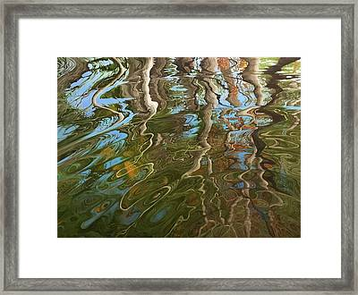 Ripple Framed Print by Jason Sawtelle