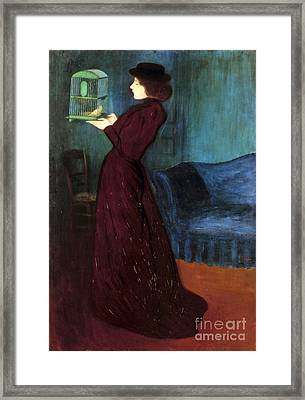 Ripple-ronai: Woman, 1892 Framed Print by Granger