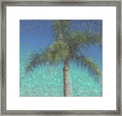 Rippled Palm Framed Print