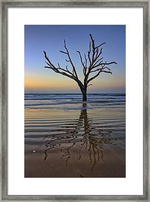 Rippled Reflection - Botany Bay Framed Print
