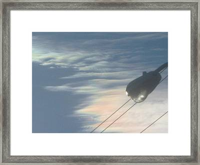 Ripples And Rainbows Framed Print by Jennifer Wall