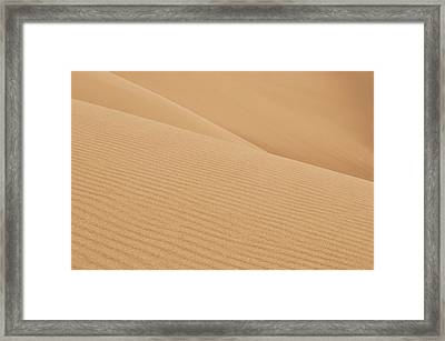 Natures Curves Framed Print