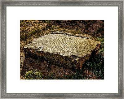 Ripples Framed Print by Jon Burch Photography
