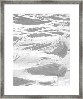Ripples Framed Print by Michael Peychich