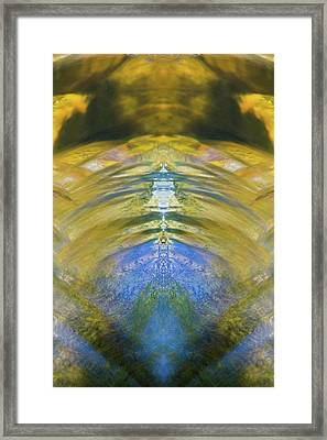 Ripples Of Bell Rocks Framed Print