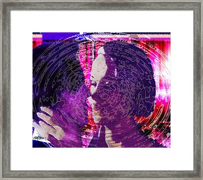Ripples Of Circumstance Framed Print